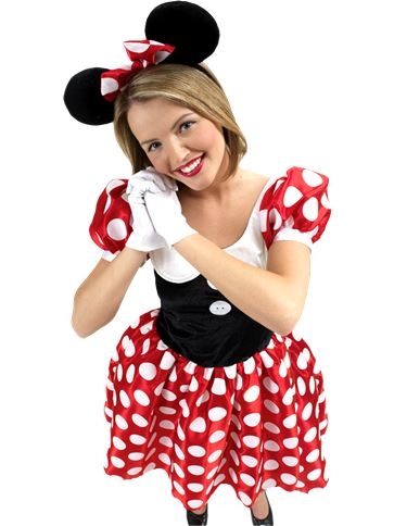 Minnie Mouse - Adult Costume front