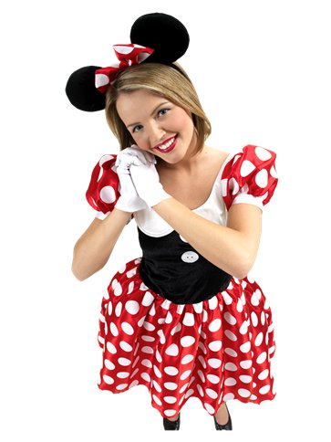 Minnie Mouse - Adult Costume pla