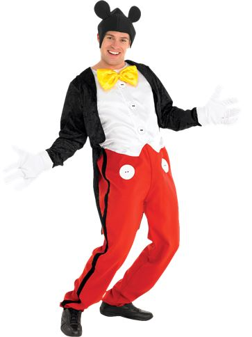 Mickey Mouse - Adult Costume front