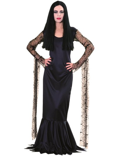 Addams Family Morticia - Adult Costume