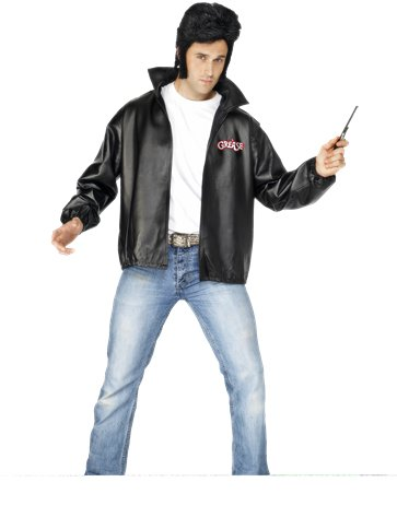 Grease T-Bird Jacket - Adult Costume front