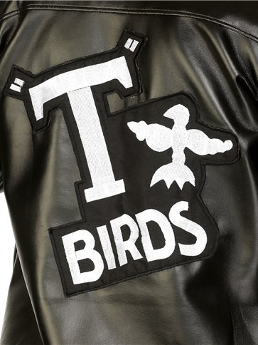 Grease T-Bird Jacket - Adult Costume left