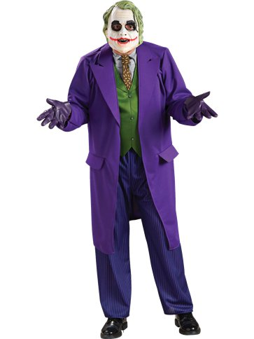 The Joker Deluxe - Adult Costume front