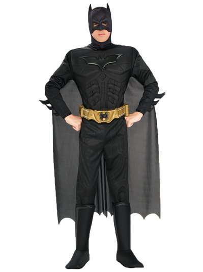 Batman Dark Knight Deluxe Muscle Chest - Adult Costume