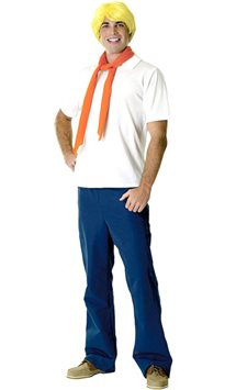 Scooby Doo's Fred - Adult Costume