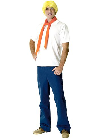 Scooby Doo's Fred - Adult Costume front