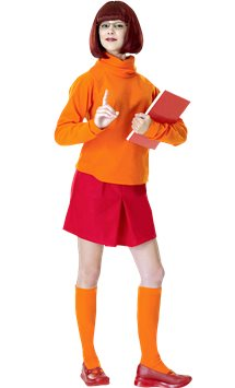 Scooby Doo's Velma - Adult Costume