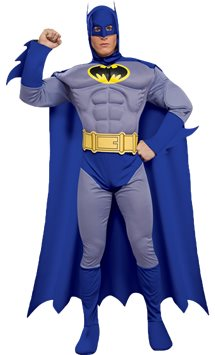 Batman Brave & Bold Deluxe Muscle Chest - Adult Costume