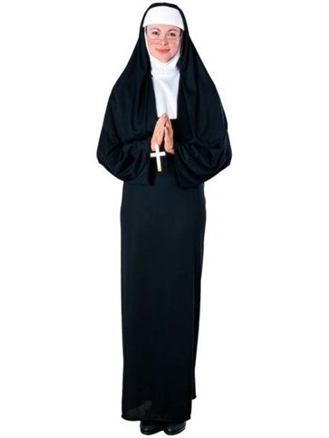 Nun - Adult Costume front