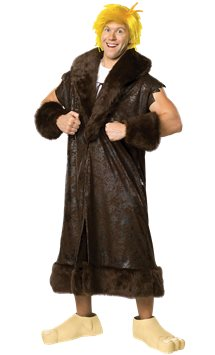 Barney Rubble Deluxe - Adult Costume
