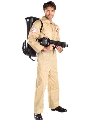 Ghostbuster - Adult Costume front