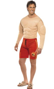 Baywatch Lifeguard Man - Adult Costume