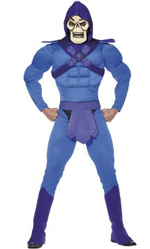 He-Man Skeletor Muscle Chest - Adult Costume