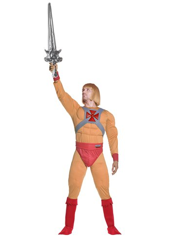He-Man Muscle Chest - Adult Costume left