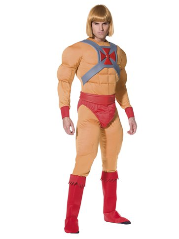 He-Man Muscle Chest - Adult Costume pla