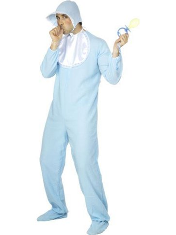 Baby Boy - Adult Costume front