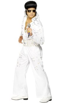Elvis Rhinestone Jumpsuit - Adult Costume