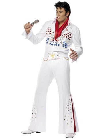 Elvis American Eagle - Adult Costume front