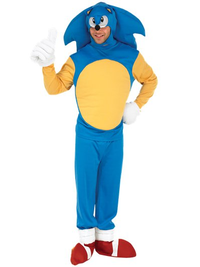 Sonic the Hedgehog - Adult Costume
