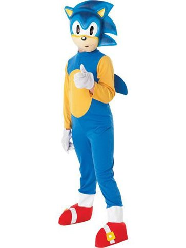 Sonic The Hedgehog Child Costume Party Delights