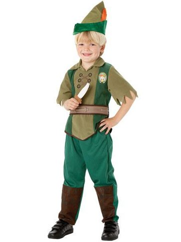 Peter Pan - Child Costume front