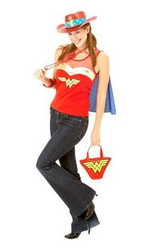 Wonder Woman Top - Adult Costume