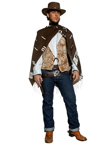 Western Wandering Gunman - Adult Costume front