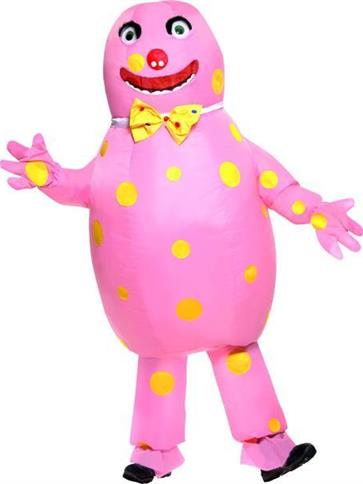 Mr Blobby Adult Costume Party Delights
