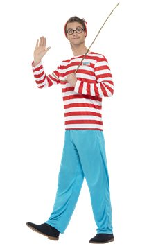 Wheres Wally - Adult Costume