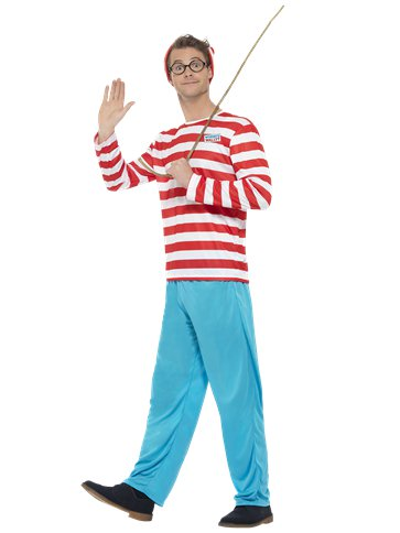 Wheres Wally - Adult Costume front