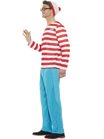 Wheres Wally - Adult Costume left