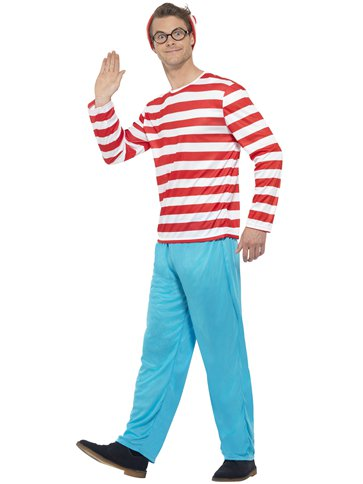 Wheres Wally - Adult Costume pla