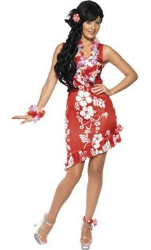 Hawaiian Beauty - Adult Costume