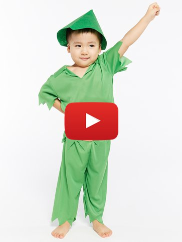 Peter Pan - Child Costume video