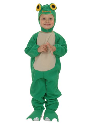 Frog - Child Costume front
