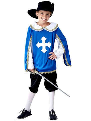 Musketeer - Child Costume front