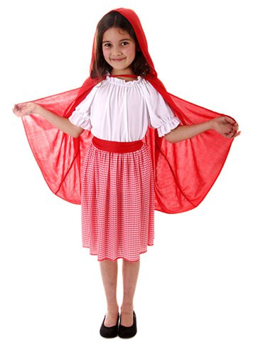 Little Red Hooded Girl - Child Costume front