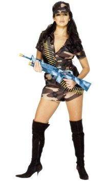 Army Girl - Adult Costume