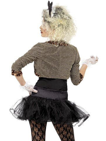 80's Wild Child - Adult Costume back
