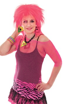 Pink Mesh Top - Adult Costume