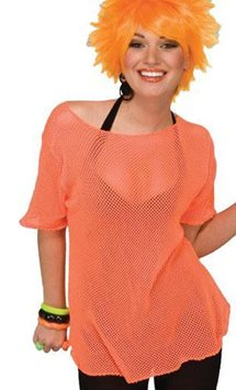 Mesh Top Orange - Adult Costume