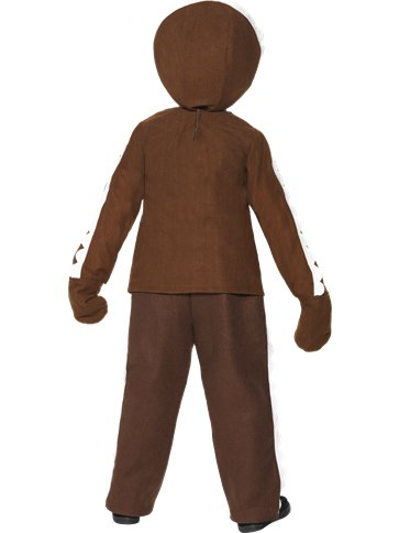Little Gingerbread Man - Toddler and Child Costume back