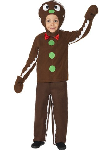 Little Gingerbread Man - Toddler and Child Costume front