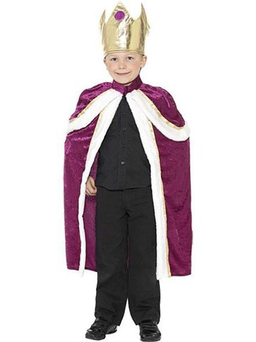 Kiddy King - Child Costume front