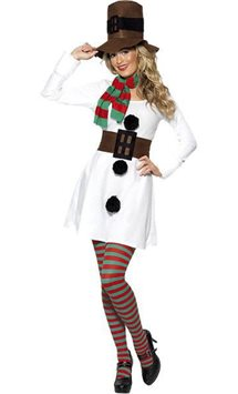 Miss Snowman - Adult Costume