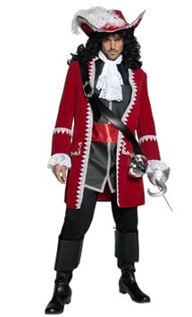 Pirate Captain - Adult Costume