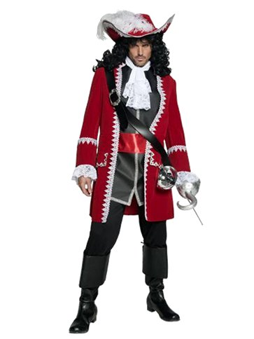 Pirate Captain Adult Costume Party Delights