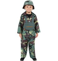 Army Boy - Child Costume