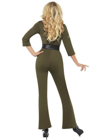 Top Gun Aviator Girl - Adult Costume back