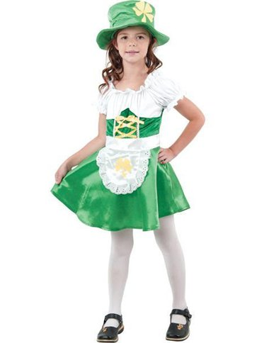 Leprechaun Girl - Child Costume front